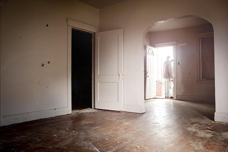<p>Empty homes were worth so little to banks that they often didn't even spend the time to file foreclosure paperwork so they could be resold, and neighbors suffered from declining property values in an endless cycle.</p>