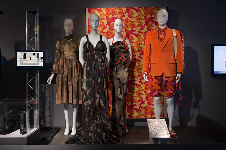 <p>Invented by the military in the early 20th century, the camouflage print was quickly co-opted by the fashion world, where it was never about blending in.</p>