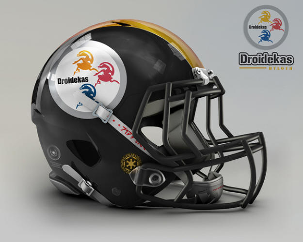 <p>Pittsburgh Steelers. Ryloth, Droidekas.</p>