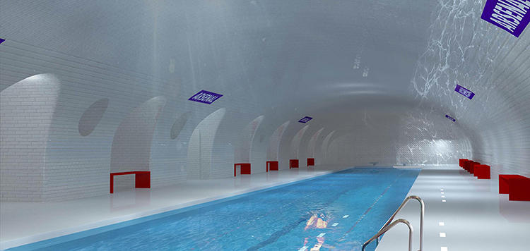 <p>What if you could go for a swim in the Paris subway?</p>