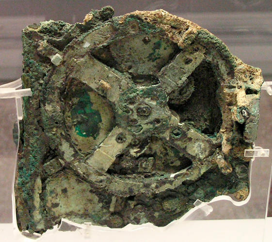 <p>In 1901, divers off the coast of southern Greece recovered a mysterious copper device the size of a shoebox from the wreck of an ancient Roman ship. Named the<a href=&quot;http://www.antikythera-mechanism.com/&quot; target=&quot;_blank&quot;> Antikythera mechanism</a> after the island near which it was discovered, it contained some 32 gears and dials. It took scientists roughly a century to confirm that it was, in fact, an early computer--a machine that could predict astronomical phenomena, dated at around 100 BCE.</p>