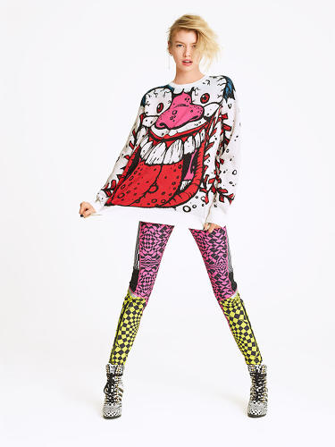 <p>Now, thanks to designer Jeremy Scott, who will be taking over as Moschino's new creative director, you can relive your weird '80s childhood with a glorious Madballs-inspired line of sweaters and minidresses.</p>