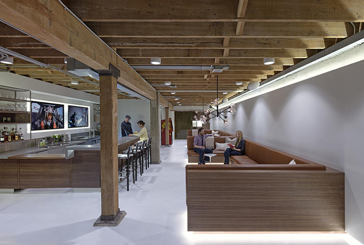 <p>The Giant Pixel office is an example of Studio O+A's larger goal: designing offices that can foster company culture, instead of doing wacky, amusement-park-like offices and assuming they'll somehow lead to great ideas.</p>