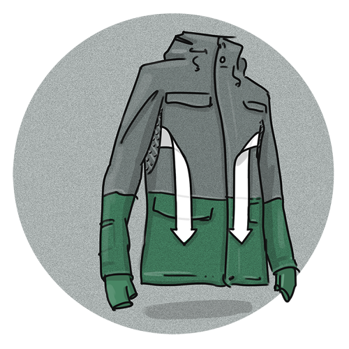<p>Beyond the germ-fighting features, the jacket also has a hidden pocket near the wrist that holds a transit pass, and vents that make the ride more comfortable when you step on a steamy train car from cold winter air outside.</p>