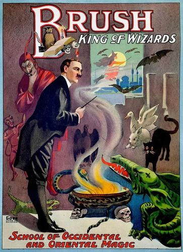 <p>&quot;A lot of these magicians made people believe that they could make contact with the dead,&quot; poster collector Zack Coutroulis says.</p>