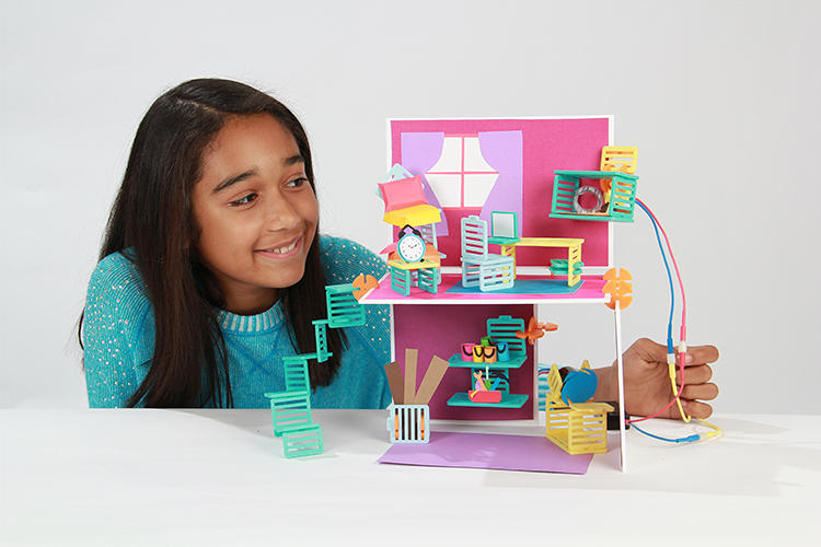 <p>It's one modeled off of an 11-year-old's design that originally featured pipe cleaners as suspension cables, and took half an hour for Chen and Brooks to recreate, they say.</p>