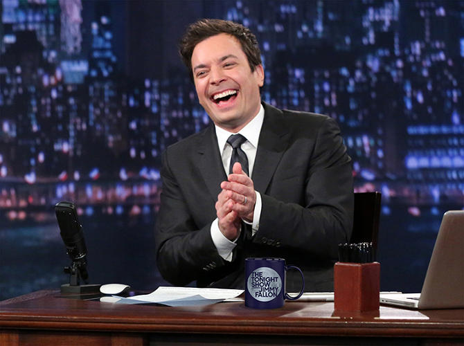 <p>Having worked with Fallon before in crafting the logo for his previous show, <em>The Late Show With Jimmy Fallon</em>, Oberman was eager to provide a fresh new look to the most prominent hour in late night.</p>