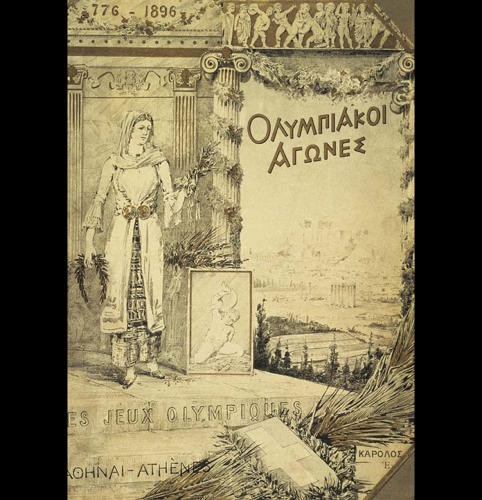<p>1896 Summer Olympics – Games of The I Olympiad – Athens, Greece</p>