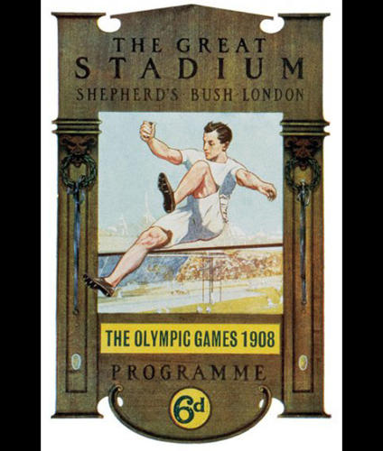 <p>1908 Summer Olympics – Games of the IV Olympiad – London, United Kingdom</p>