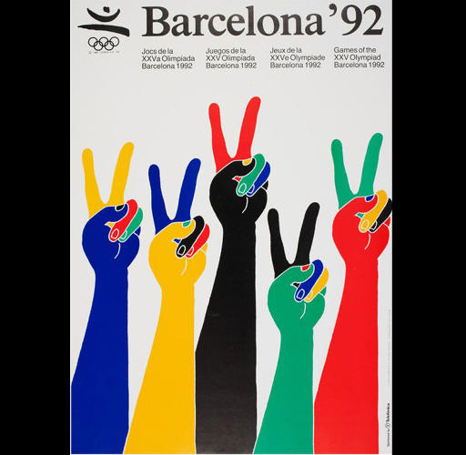 <p>1992 Summer Olympics – Games of the XXV Olympiad – Barcelona, Spain</p>