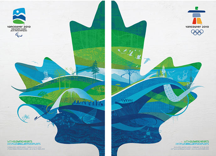 <p>2010 Winter Olympics – XXI Olympic Winter Games – Vancouver, BC, Canada</p>