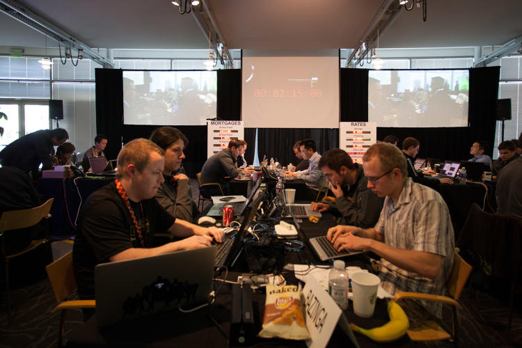 <p>Last year's Cyber WarGames winner, Bazinga, came in second this year.</p>