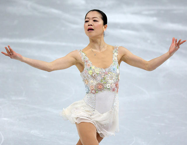 <p>Akiko Suzuki of Japan. &quot;Not my style, but it suits her. She looks confident, pretty, and youthful.&quot;</p>