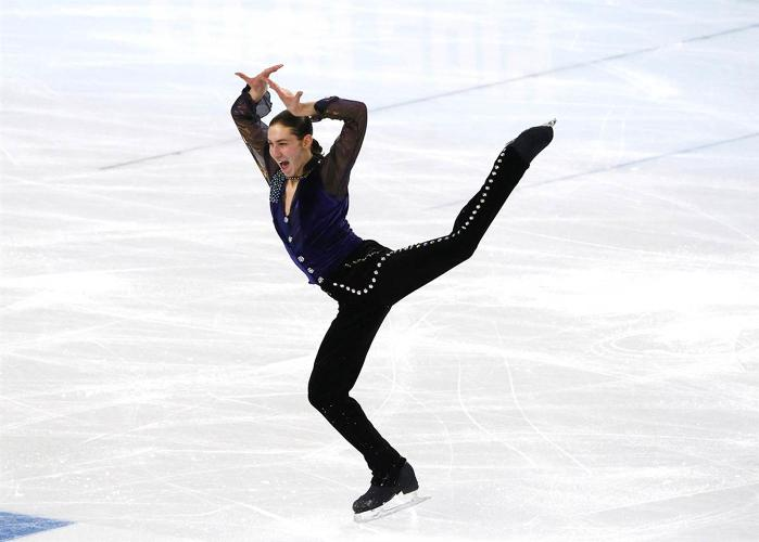 <p>Jason Brown of Team USA dancing to &quot;Question of U,&quot; by Prince. &quot;He's definitely rockin' that tail,&quot; Yee says.</p>