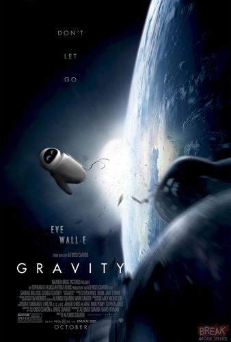 <p>The robot Eve from <em>Wall-E</em> as Sandra Bullock in <em>Gravity</em> was an obvious shoo-in.</p>