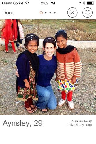 <p>Will strangers find you more attractive posed next to a child from the developing world?</p>