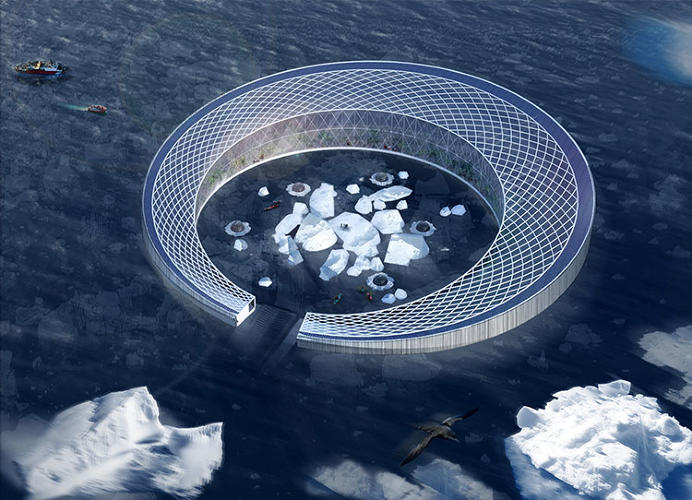 <p>With the Arctic Harvester, melting glaciers are the perfect place to grow local food.</p>