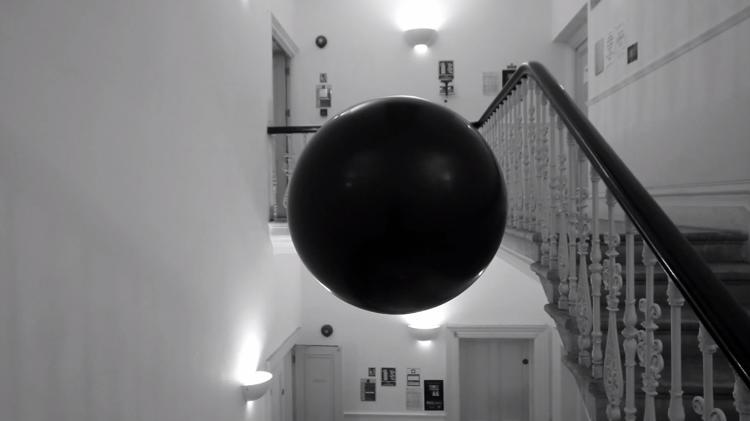 "<p>Called <a href=&quot;http://ied.rca.ac.uk/de-computation/space-replay&quot; target=&quot;_blank&quot;>""Space Replay</a>,"" the giant ball constantly records and replays the sounds of public spaces, creating ""a delayed echo of human activity,"" as its designers put it.</p>"