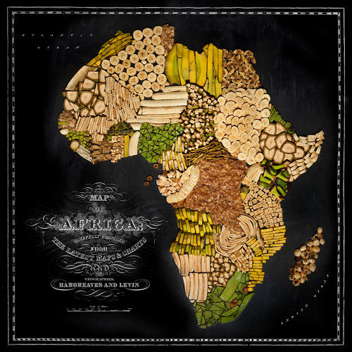 <p>And Africa's bountiful banana and plantain harvests informed this map.</p>