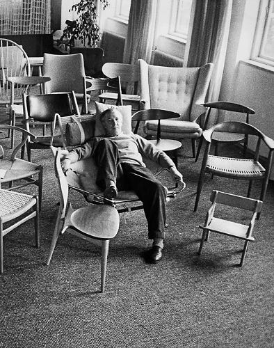 "<p>HansWegner, one of Denmark's most prolific designers, created over 500 chairs and 1,000 other pieces of furniture in his lifetime--a feat that earned him the nickname the ""King of Chairs.""</p>"