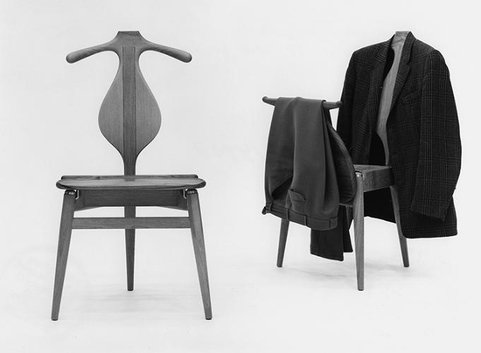 <p>The Valet Chair, from 1953, doubled as a storage rack for each piece of a man's suit.</p>