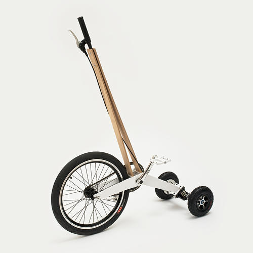 <p>Despite the upright position, the Halfbike manages to avoid the dorkiness of something like the Segway, perhaps because of the way riders move.</p>