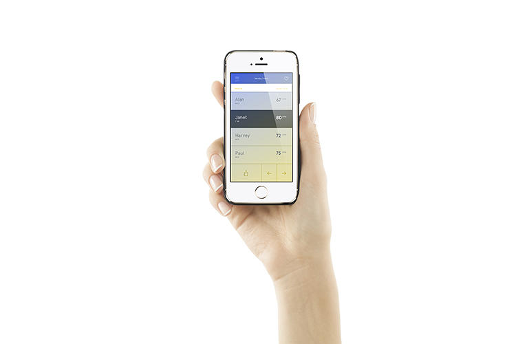 <p>The best thing about Wello: It lives in your iPhone's case, which is slimmer than even a standard Speck.</p>
