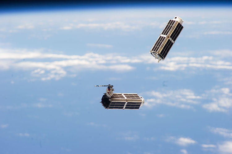 <p>Over the next year, Planet Labs will launch over 100 satellites, which are hitching a ride on U.S. and Russian rockets.</p>
