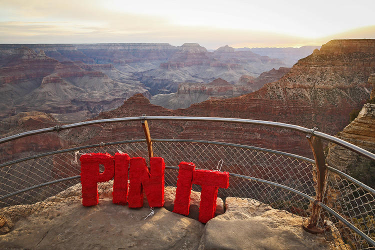 <p>Pinterest visits the Grand Canyon.</p>