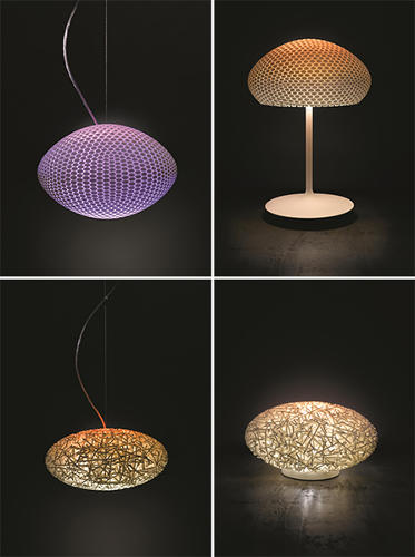 <p>Philips teamed up with design teams WertelOberfell and Strand+Hvass to create futuristic table and pendant luminaries, which will be displayed at the Philips Forum at Light and Building show in Frankfurt from March 31 to April 4.</p>