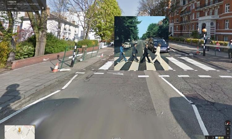 <p>The Beatles' famed strut on the cover of <em>Abbey Road</em> in 1969. London's Westminster Council has to repaint the wall next to the crossing four times a year to cover up fans' graffiti, and the street signs are mounted extra high off the ground, because otherwise, they get stolen.</p>