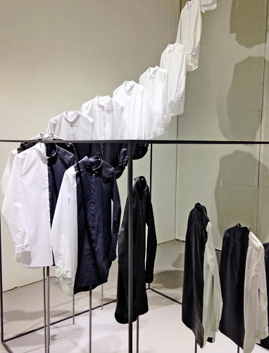 <p>Nendo and clothing store COS have elevated the white-collared shirt...</p>