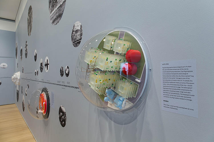 <p>MVRDV imagined a vertical pig farm in the middle of the city.</p>