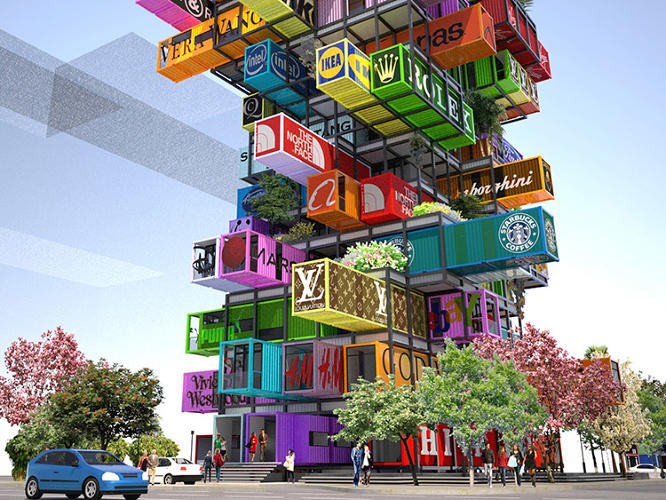 <p>Hive-Inn is an eye-popping hotel concept by Hong-Kong-based architects OVA Studio.</p>