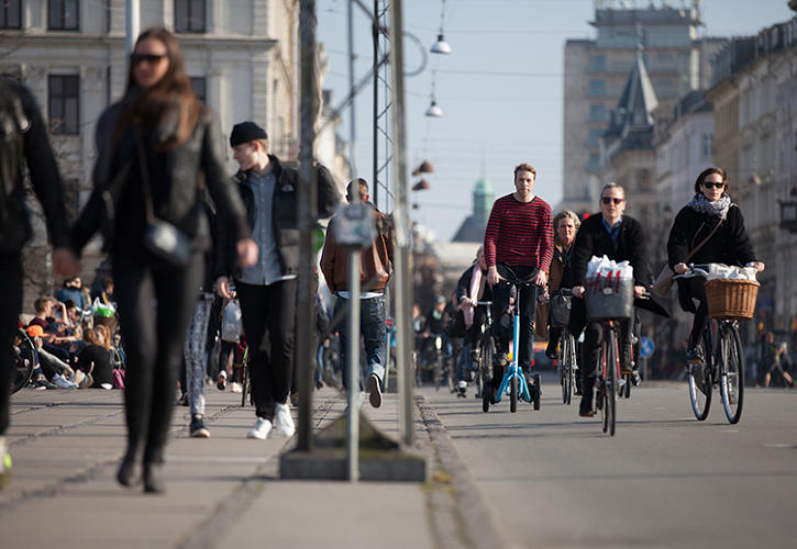 "<p>""I think more and more people realize that changing from an active to passive lifestyle has great potential for improving their well-being and in general having a better life,"" says Eliasson, who is from the cycling-obsessed city of Copenhagen.</p>"