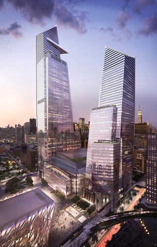<p>It's the largest private real estate project ever in the United States and is slated for construction on Manhattan's underdeveloped West Side beginning this year.</p>