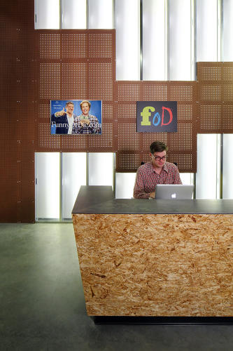 <p>The comedy website of apparently straight-to-viral videos, such as President Obama's sit down with Zach Galifianakis for <em>Funny or Die</em>'s <em>Between Two Ferns</em> series, moved into the new space in West Hollywood in late 2013.</p>