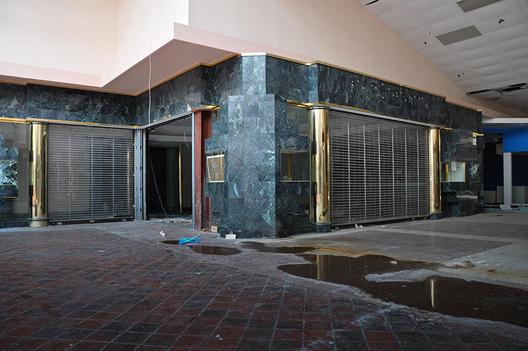"<p>""I was chased out of the Randall Mall by police and demolition workers as they were beginning the demolition process,"" Lawless says.</p>"