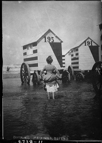 <p>Horses may not drag them to sea anymore, but they still can sometimes be seen serving as standard beachside huts.</p>