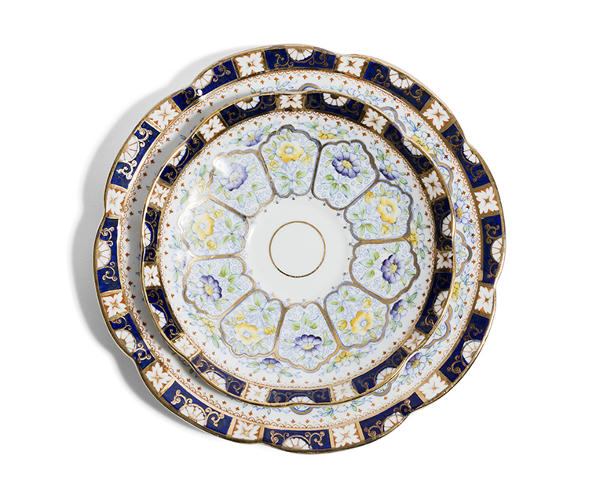 <p>The Range saucer and cup sets go for £ 80.00 (about $135) each, and can be bought <a href=&quot;http://www.richardbrendon.com/category/reflect-3.html#all&quot; target=&quot;_blank&quot;>here</a>.</p>