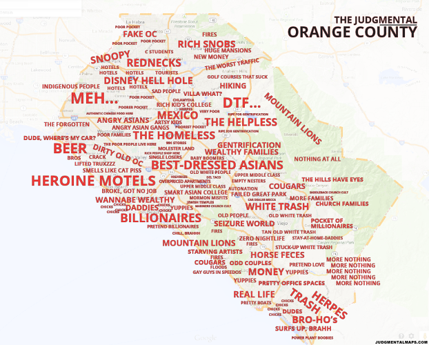 <p>In Orange County, an entire neighborhood is just &quot;meh.&quot;</p>