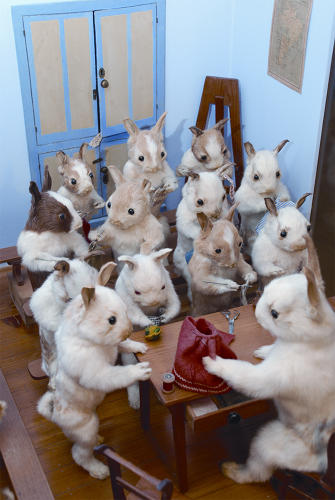 <p>Then, in 1880, Potter opened a tiny museum in Bramber, Sussex, which delighted visitors with its morbid cuteness for, well, 150 years.</p>