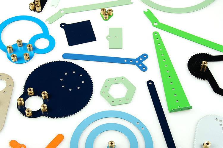 <p>Since he was a child, Dutch designer <a href=&quot;http://www.bytomm.com/&quot; target=&quot;_blank&quot;>Tomm Velthuis </a>has been obsessed with Meccano, a toy set consisting of colorful metal plates, angle girders, and pulleys that can be assembled and reassembled with nuts and bolts.</p>