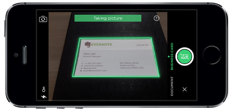 Evernote And LinkedIn Launch A New Business Card App For
