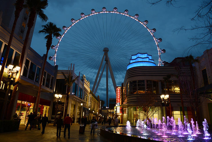 <p>The High Roller, currently the world's tallest observation wheel, is a giant &quot;weenie&quot; or object of visual interest, to draw people in.</p>
