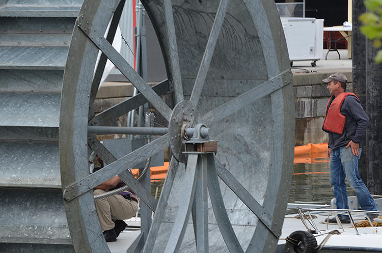 <p>If Baltimore's Inner Harbor looks cleaner than usual this summer, it may have something to do with a new &quot;water wheel&quot; positioned upriver.</p>