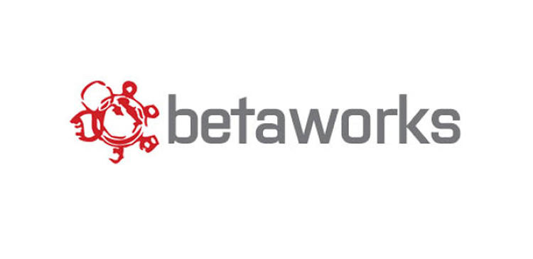 <p>The old Betaworks logo, seen here, had turned that engine into a stamp-like watermark.</p>