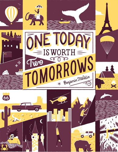 <p>Baron Fig has launched a line of inspirational posters from designers all over the world.</p>