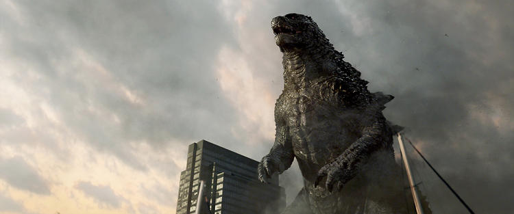 <p>The re-imagined mutant visits San Francisco in Gareth Edwards's 2014 <em>Godzilla</em> reboot.</p>