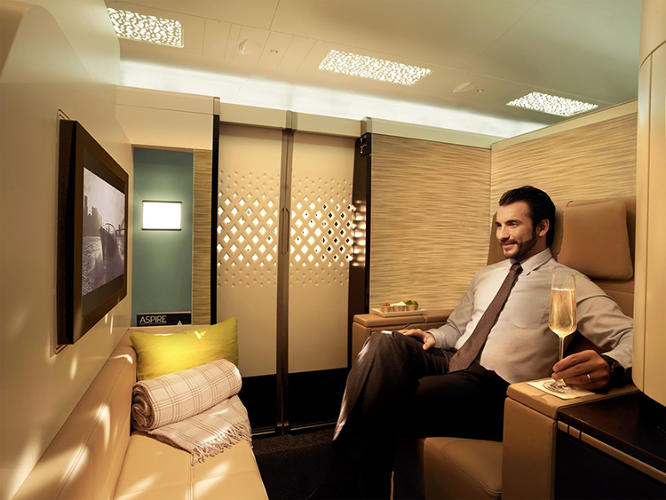 "<p>In an attempt to one-up competitors in the growing luxury air travel industry, United Arab Emirates airline carrier Etihad has just announced what they're calling ""The Residence.""</p>"